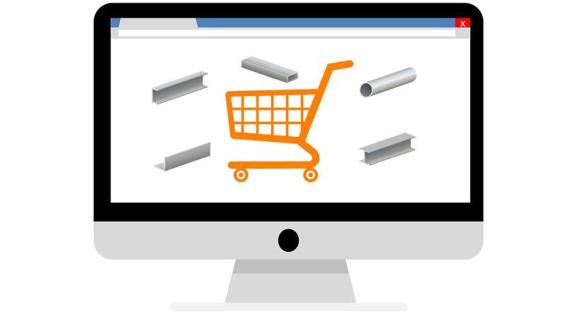 vendita acciaio su internet